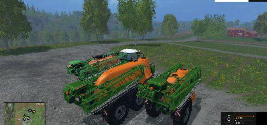 С/Х инвентарь для Мод-пак опрыскивателей для Farming Simulator 2015
