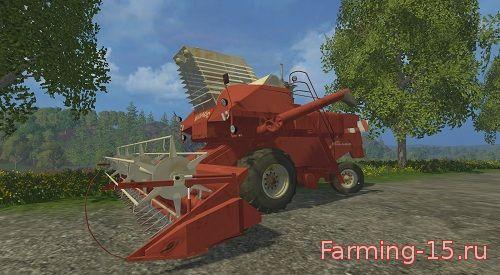 Русская техника для Мод зерноуборочный комбайн СК-6 Колос для Farming Simulator 2015
