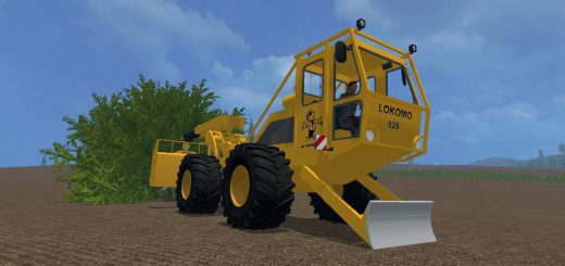 Лесозагатовка для Мод Лесо-погрузчик «Lokomo 928 Debardeur Forestier» v1.2 для Farming Simulator 2015