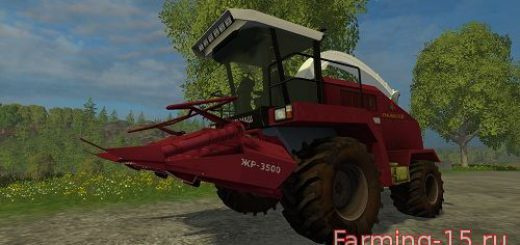 Косилки для Мод комбайн КВК-800 для Farming Simulator 2015