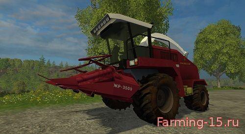 Косилки для Мод комбайн КВК-800 для Farming Simulator 2015