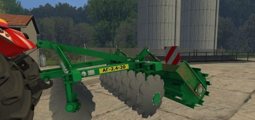 С/Х инвентарь для Мод Культиватор «АГ-2.4-20» для Farming Simulator 2015