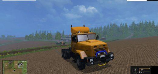 Русская техника для Мод грузовик KрАЗ 64431 v1.0 для Farming Simulator 2015