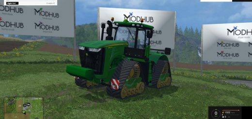 Тракторы для Мод трактор John Deere 9560RX FINAL для Farming Simulator 2015