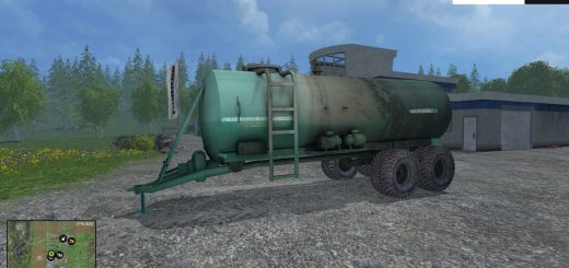 Техника для удобрений для Мод цистерна МЖУ-16 для Farming Simulator 2015