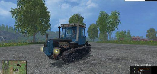 Русская техника для Мод гусеничный трактор ХТЗ-181 для Farming Simulator 2015