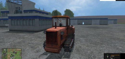Гусеничный транспорт для Мод гусеничный трактор ДТ-75Н для Farming Simulator 2015