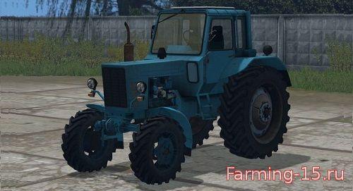 Русская техника для Мод трактор МТЗ 80 v4 для Farming Simulator 2015