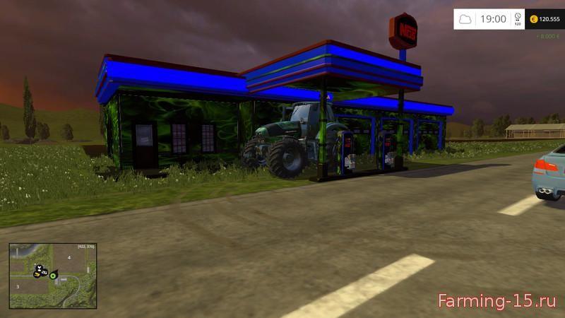 Другие моды для Мод автозаправочная станция для Farming Simulator 2015