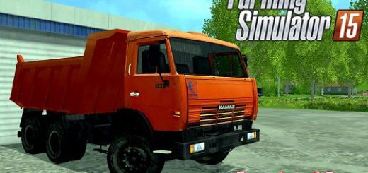 Русская техника для Мод грузовик КамАЗ 65115 для Farming Simulator 2015