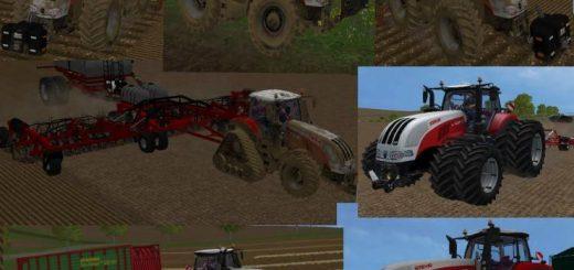 Тракторы для Мод-пак тракторов STEYR 6300 CVT для Farming Simulator 2015