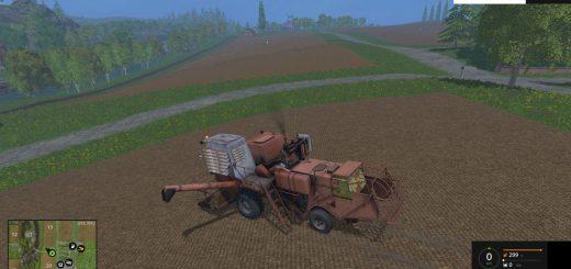 Комбайны для Мод комбайн СК-5М Нива с ПУНом и копнителем для Farming Simulator 2015