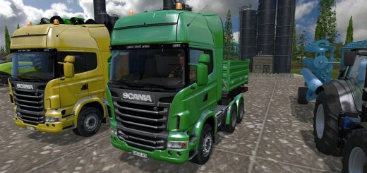 Грузовики для Мод грузовик Scania для Farming Simulator 2015