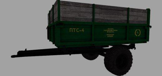 Прицепы для Мод прицеп ПТС-4 для Farming Simulator 2015