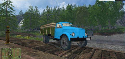 Русская техника для Мод грузовик ГАЗ-51А для Farming Simulator 2015