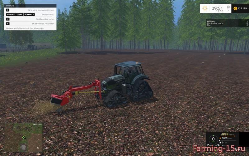 Лесозагатовка для Мод Лесо-погрузчик «Bergziege 16.540 FL» v1.0 для Farming Simulator 2015