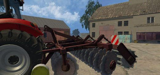 С/Х инвентарь для Мод Культиватор АГД-4.5 для Farming Simulator 2015