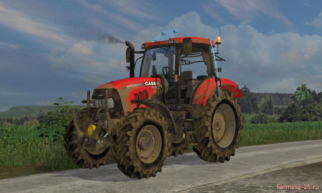 Тракторы для Мод трактор CASE IH MAXXUM 140 MUTICONTROLLER для Farming Simulator 2015