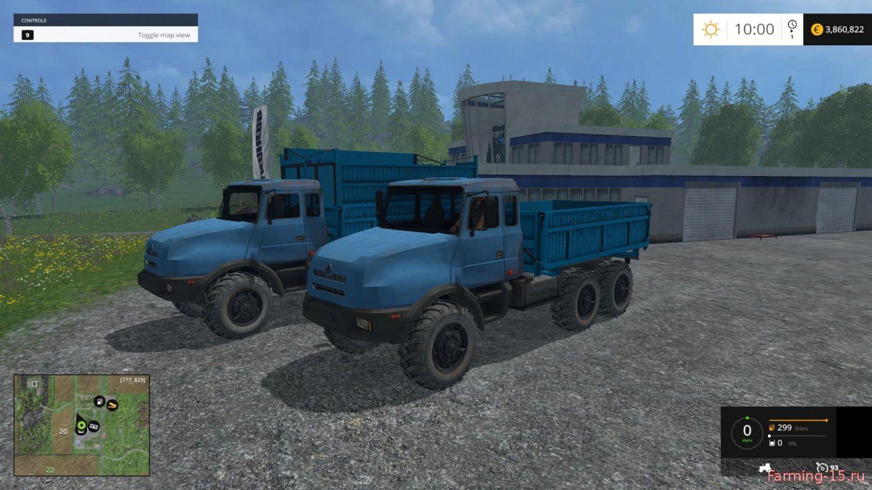 Русская техника для Мод-пак грузовиков Урал 44202-59 для Farming Simulator 2015