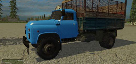 Русская техника для Мод грузовик ГАЗ 53 для Farming Simulator 2015