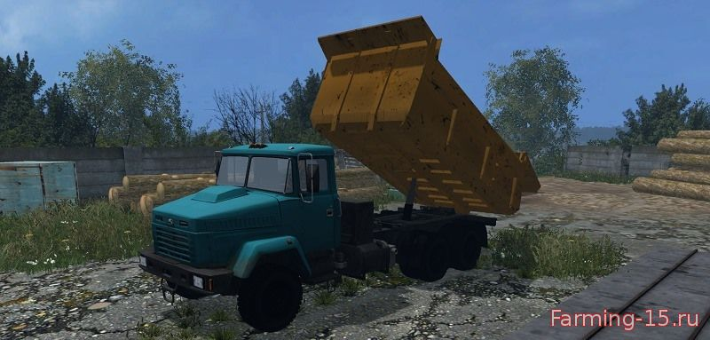 Русская техника для Мод грузовик KрАЗ 6510 v2.0 для Farming Simulator 2015