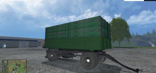 Русская техника для Мод прицеп НЕФАЗ 8560 для Farming Simulator 2015