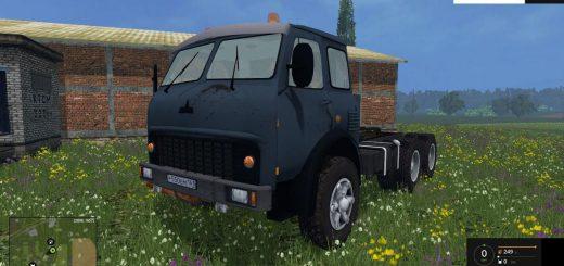 Русская техника для Мод тягач МАЗ-515 для Farming Simulator 2015