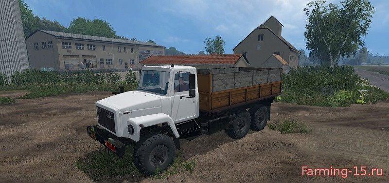 Русская техника для Мод грузовик ГАЗ-3309 для Farming Simulator 2015