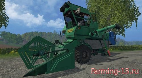 Русская техника для Мод комбайн Нива-СК.5 для Farming Simulator 2015