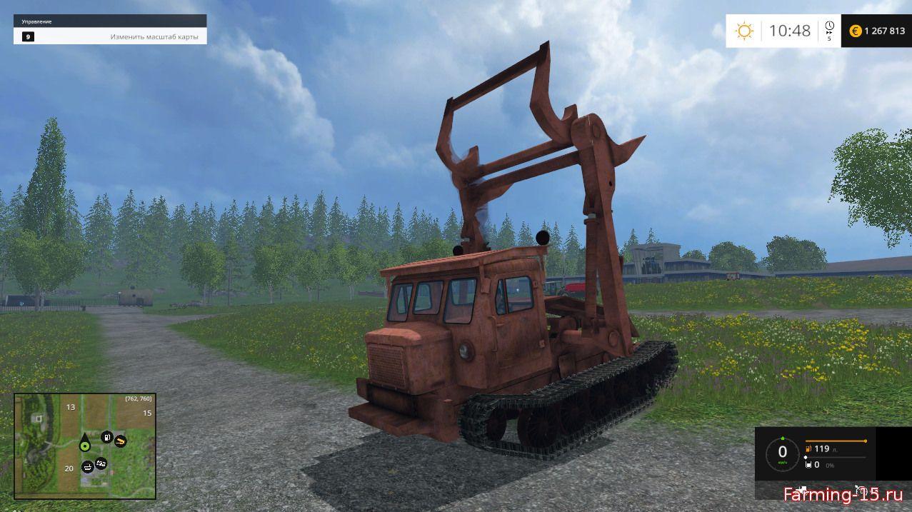 Русская техника для Мод ТТ-4 для Farming Simulator 2015
