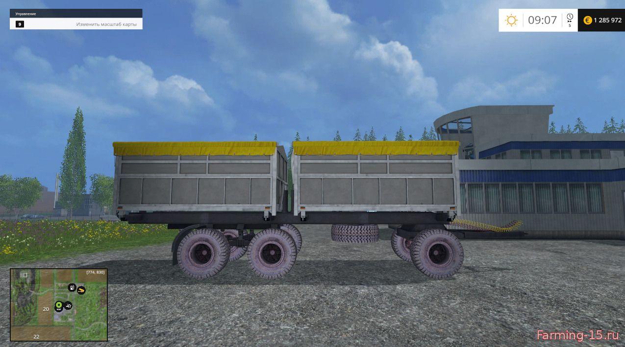 Прицепы для Мод прицеп ПТС 12 для Farming Simulator 2015