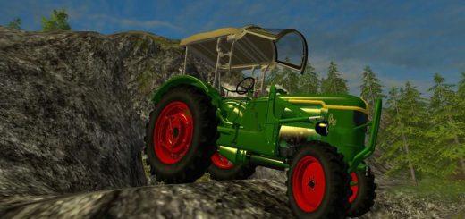 Тракторы для Мод трактор Deutz D40 ubp для Farming Simulator 2015