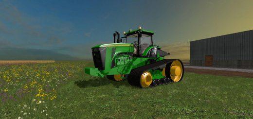 Тракторы для Мод  гусеничный трактор John Deere 9560 RT для Farming Simulator 2015