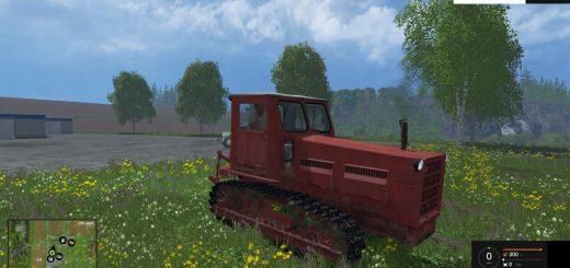 Русская техника для Мод гусеничный трактор Т-4 «Алтаец» для Farming Simulator 2015