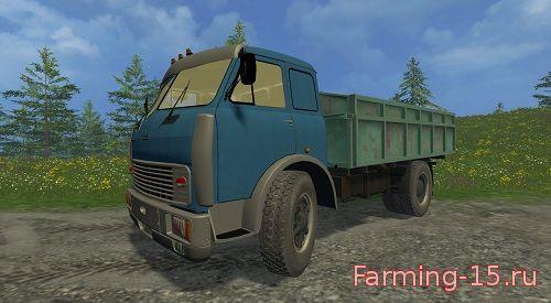 Русская техника для Мод грузовик МАЗ-500 для Farming Simulator 2015