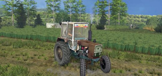Тракторы для Мод трактор ЮМЗ 6 для Farming Simulator 2015
