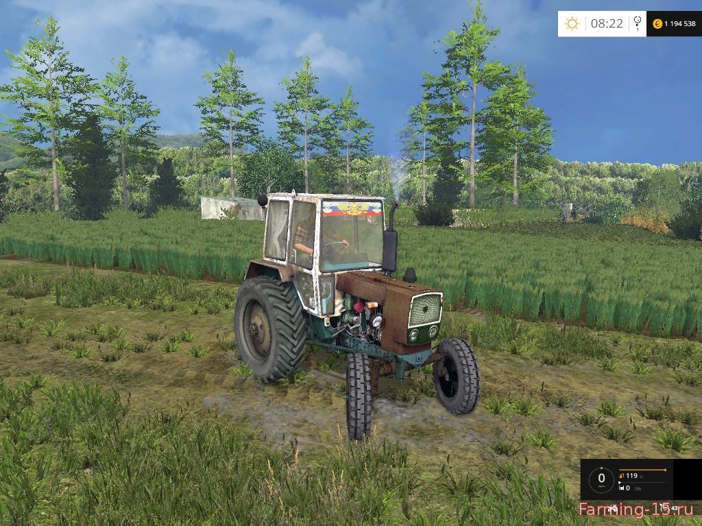 Тракторы для Мод трактор ЮМЗ 6 для Farming Simulator 2015