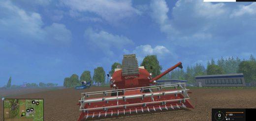 Русская техника для Мод комбайн Колос СК-6 для Farming Simulator 2015