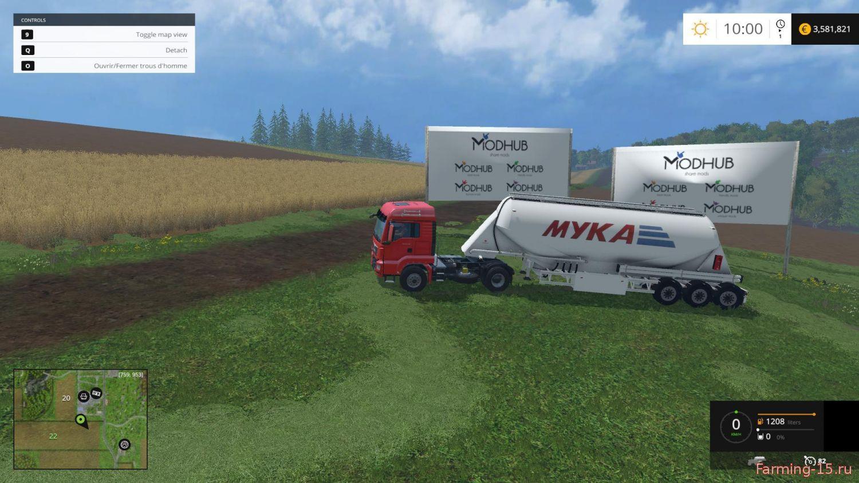 Цистерны для Мод прицеп – цистерна для Farming Simulator 2015