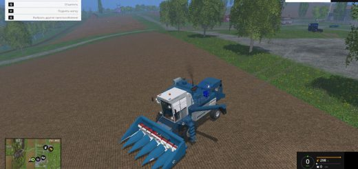 Русская техника для Мод комбайн Енисей 1200 НМ для Farming Simulator 2015