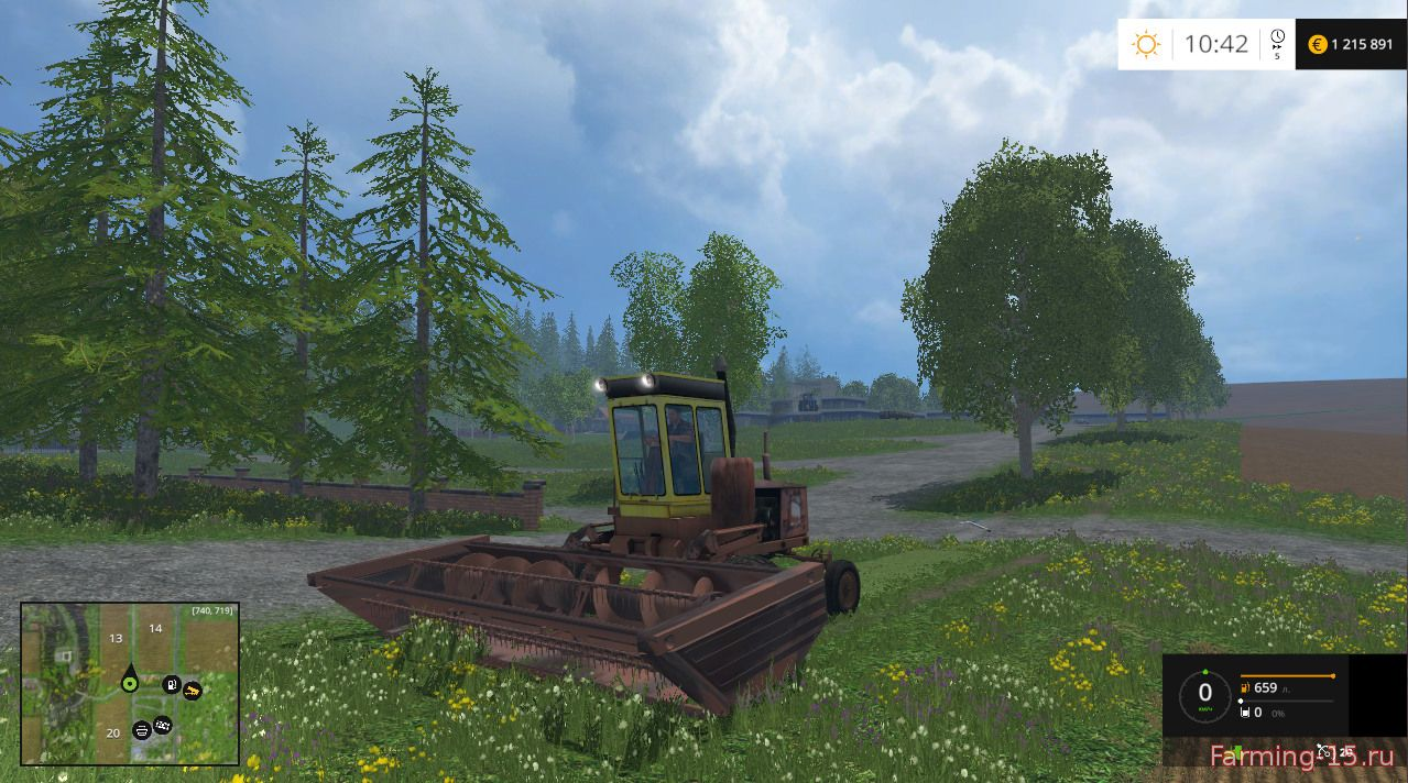 Косилки для Мод косилка КПС-5Г для Farming Simulator 2015