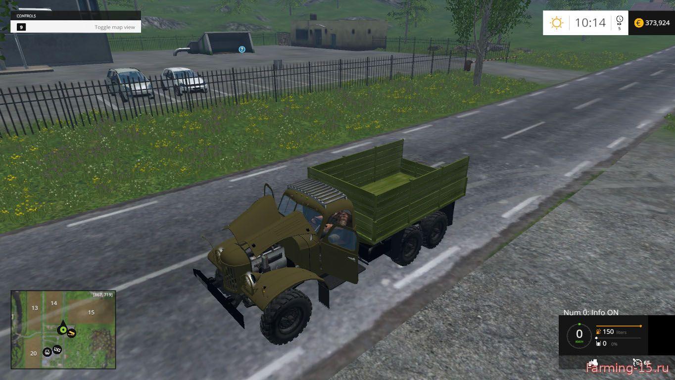 Русская техника для Мод Грузовик «3ИЛ 157К» v4.0 для Farming Simulator 2015