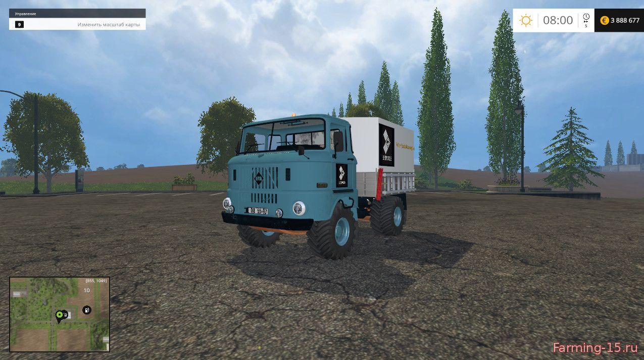 Грузовики для Мод грузовик IFA W50 Service для Farming Simulator 2015