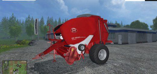 С/Х инвентарь для Мод тюкопрес – «Lely Welger RP445» для Фермер Симулятора 2015