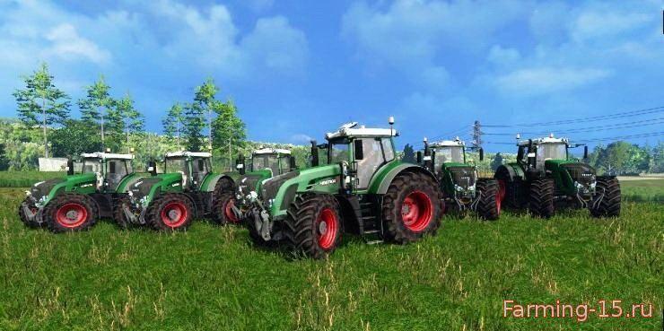Тракторы для Мод-пак тракторов Fendt 900er для Farming Simulator 2015