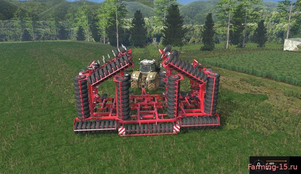 С/Х инвентарь для Мод культиватор для Farming Simulator 2015