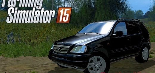 Машины для Мод машина Mercedes Benz ML430 для Farming Simulator 2015