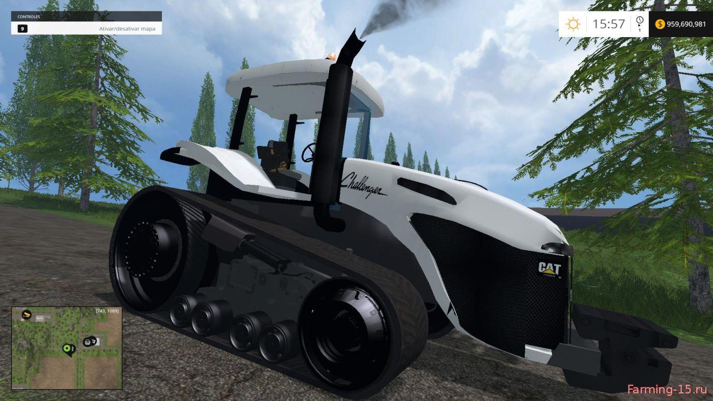 Тракторы для Мод гусеничный трактор CAT Challenger MT765B для Farming Simulator 2015