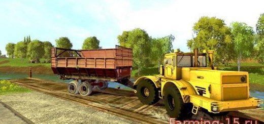 Прицепы для Мод Силосный прицеп ПИМ-40 для Farming Simulator 2015