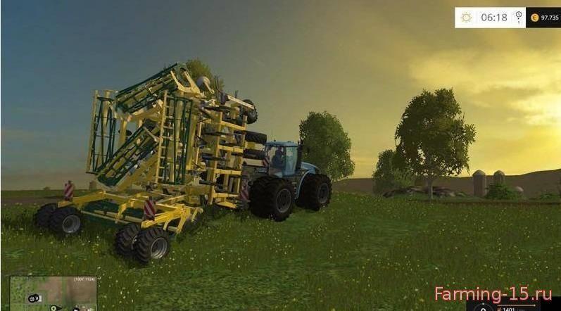С/Х инвентарь для Мод складывающийся культиватор для Farming Simulator 2015